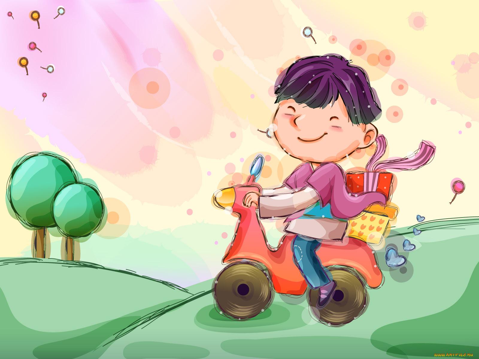 Картинки и рисунки детства